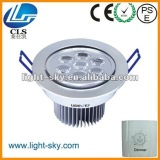 7w Single color white Red Blue Green Shenzhen led downlight