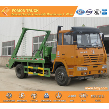 SHACMAN AOLONG 4x2 swinging arm garbage truck