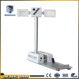 Long Multifunctional solar telescopic electric light tower