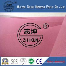Розовый ПП нетканые ткани для супермаркета сумки