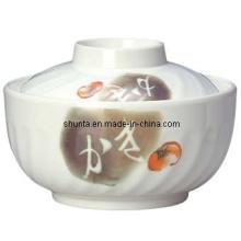 Vaisselle de 100% en mélamine-grand bol de riz (RPA73S)