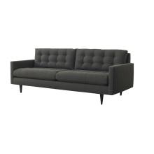 Popular 3 Seater Leisure Home Furniture Sofá de tecido