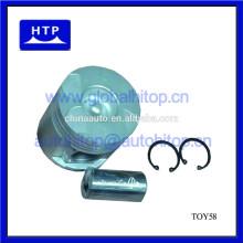 Piston de moteur diesel pour Toyota Hilux Vigo pour HIACE 2KD pièces 13101-30031