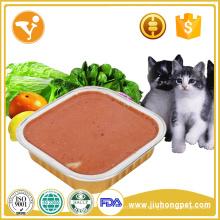 Gran barata y deliciosa comida de gato enlatada halal