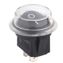 Round Rocker Switch avaible with Waterproof Cover