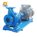 horizontal hydraulic impeller pump for chemical factory