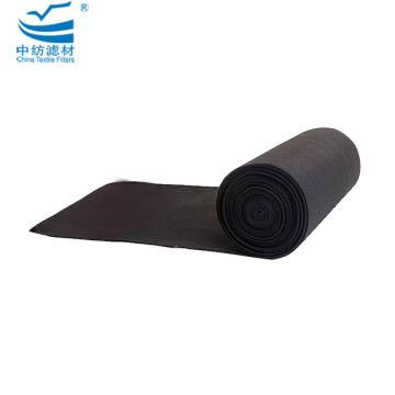 Feuille de fibre de filtre à air à charbon actif