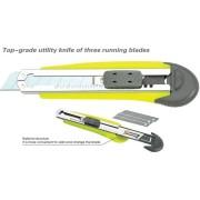 Nombre: cuchillo para uso general top-grado de tres láminas de corrientes