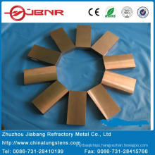 Tungsten Copper Bar W75cu25 with ISO 9001 From Zhuzhou Jiabang