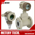 high performance turbine gas flow meter Metery Tech.China