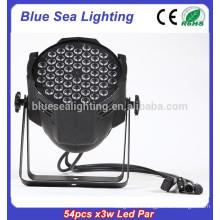 Заводская цена 54pcs x 3w dj свет дискотека свет пар 64 привело
