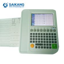 Ecg veterinário portátil confortável móvel de SK-EM103