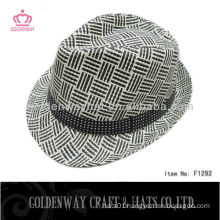Cheap light grey Fedora Hat For Men