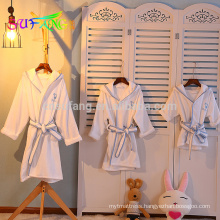 Hotel linen/5 star hotel standard bathrobe for kids