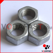 Hex Nuts Hot DIP Galvanized Finished