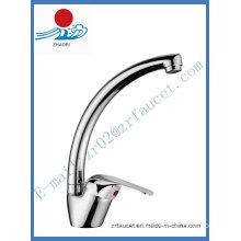 Brass Body Single Handle Kitchen Faucet (ZR20605)