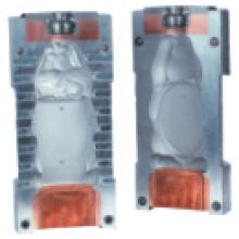 Molde de soplado para la máquina de moldeo por soplado de extrusión