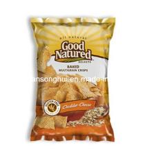 Bolso de empaquetado de las patatas fritas crujientes / bolso de bocadillo plástico