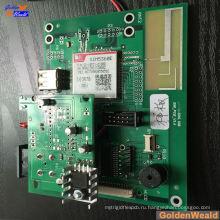переключатель доски PCB с LED дисплеем ОЕМ платы ассемблер
