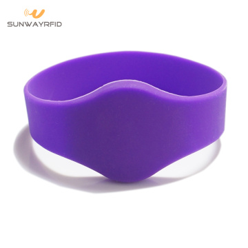 32mm Oval Head Silicon RFID NFC Wristband