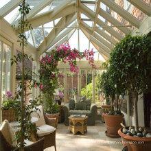 Pratique en verre feuilleté en aluminium Conservatory Garden Room (FT-S)