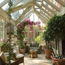 Практические Прокатанное стекло Алюминиевый зимний сад номер в саду (М-С)