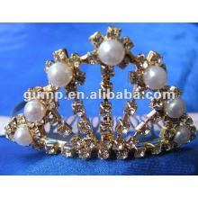 Crstal tiara comb (GWST12-119)