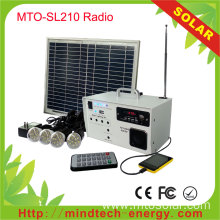 Fm Solar Radio Portable Home Lighting System