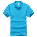Camiseta al por mayor del polo para hombre en blanco de encargo de la fábrica de China