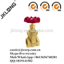 J1001 Brass gate valve
