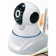 Caméra IP ronde sans fil Mini CCD infrarouge