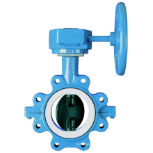 Ss304 Manual Operation Ductile Iron Butterfly Valve