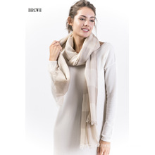 Brcwh-100% Cashmere Hollow Ladies Scarf