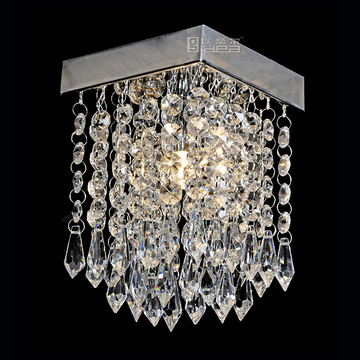 home passage ceiling light fixtures modern crystal lamp