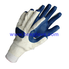 10 Gauge Tc Liner, Latex Coating Handschuh