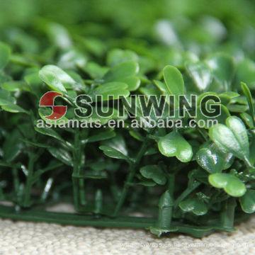 artificial boj cobertura de hierba artificial pared de hoja verde