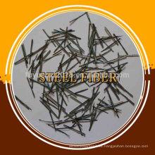 Material de acero fibra de acero, fibra de acero inoxidable, fibra de acero micro