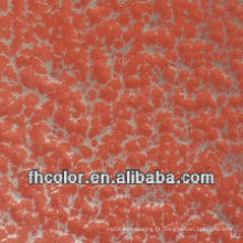 Bronze em Red Wrinkle Metallic Powder Coating
