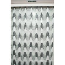 Home decor water wave style string curtain modern kitchen curtain