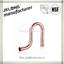 Montagem de tubos de cobre P-TRAP UPC NSF