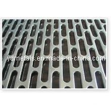 Oblong Hole Galvanized Perforated Sheet Metal Yd-Opm-01