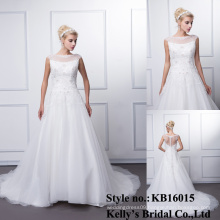 2016 appliqued lace sleeveless heavy beading lace wedding dresses alibaba bridal gown