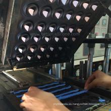 Caucho de silicona compresivo de precisión