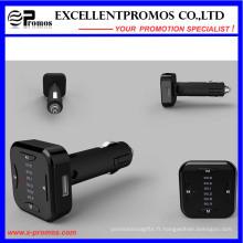 Transmetteur Bluetooth FM sans fil Nouveau design 2016 avec double chargeur USB