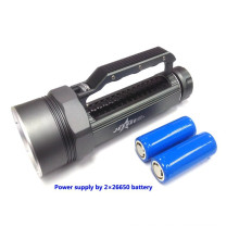 JEXREE Top sell product from Jexree 4000 lumen SJ-D02 battery operated torches rechargeable portable searchlights