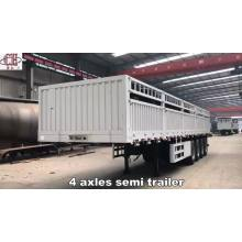 Chinese factory supplier high quality flatbed trailer