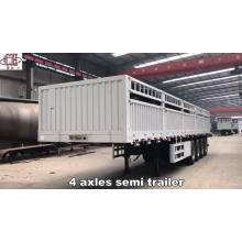Proveedor de fábrica china remolque de plataforma de alta calidad