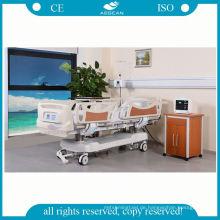 Fabrikpreiskrankenhaus-Multifunktions justierbares medizinisches Klinikbett der Krankenschwester