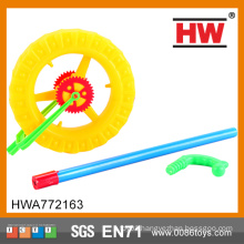 New Design Kids Plastic Push Wheel Toy