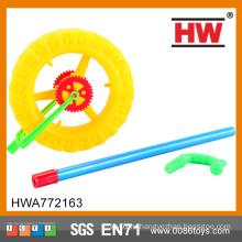 Новый дизайн Дети пластиковые игрушки Push Wheel